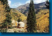 yurts in colorado mountain property
